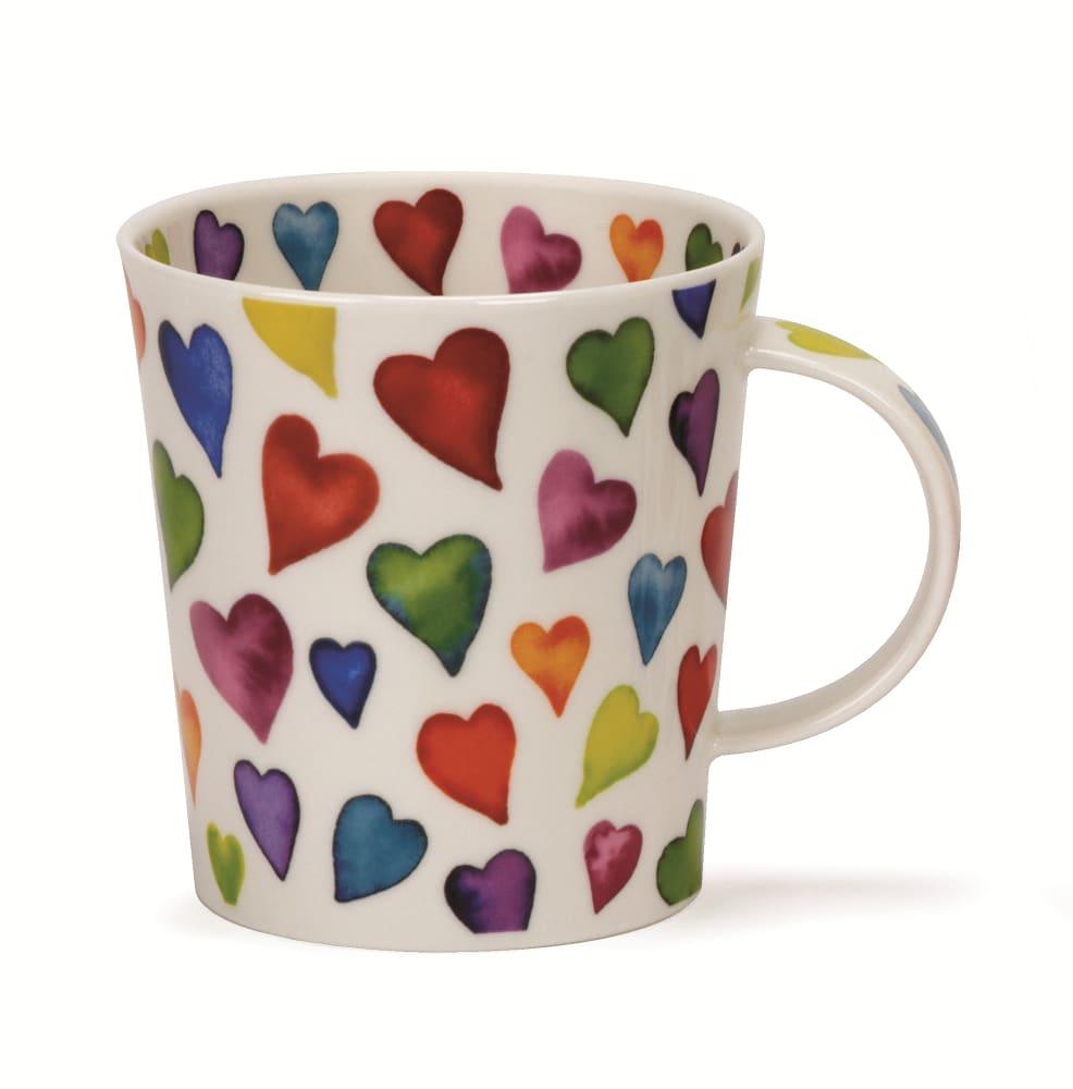 Dunoon Ceramics Ltd Lomond Warm Hearts Mug