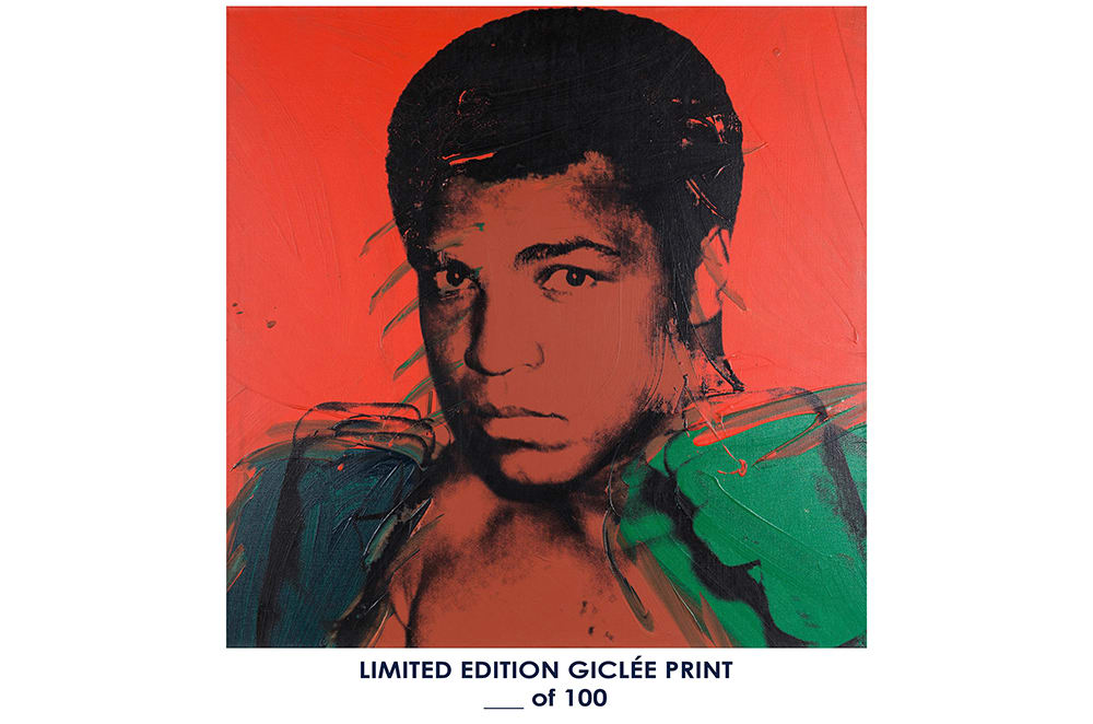 Giclee Art Prints Andy Warhol Muhammad Ali 1 Poster