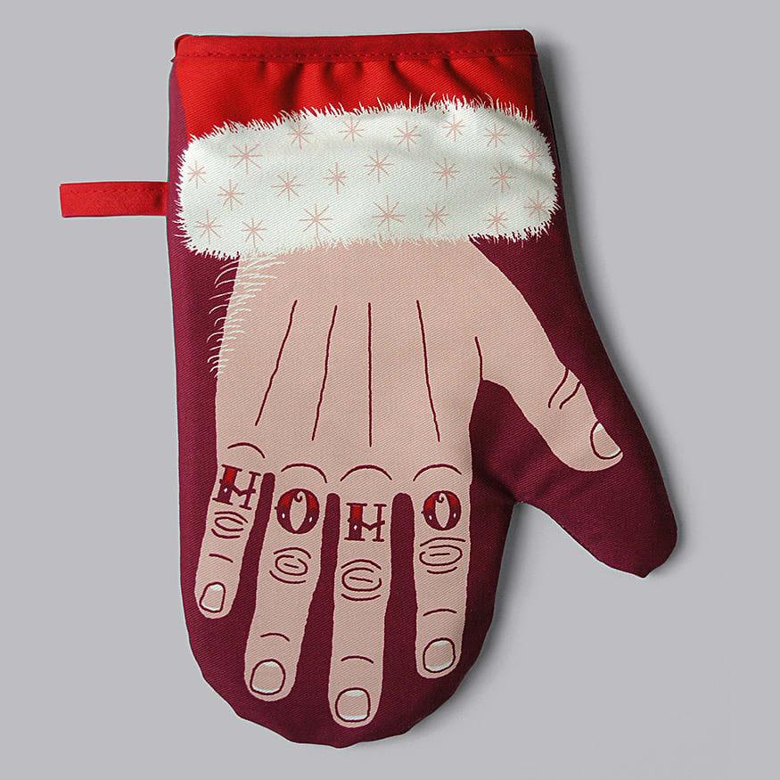 Stuart Gardiner Design Santa's Paw Single Oven Mitt