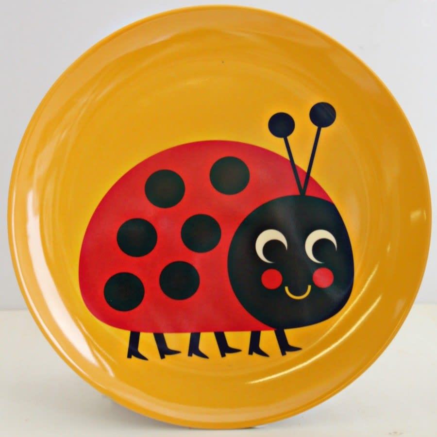 Vintage Ladybird Melamine Plate