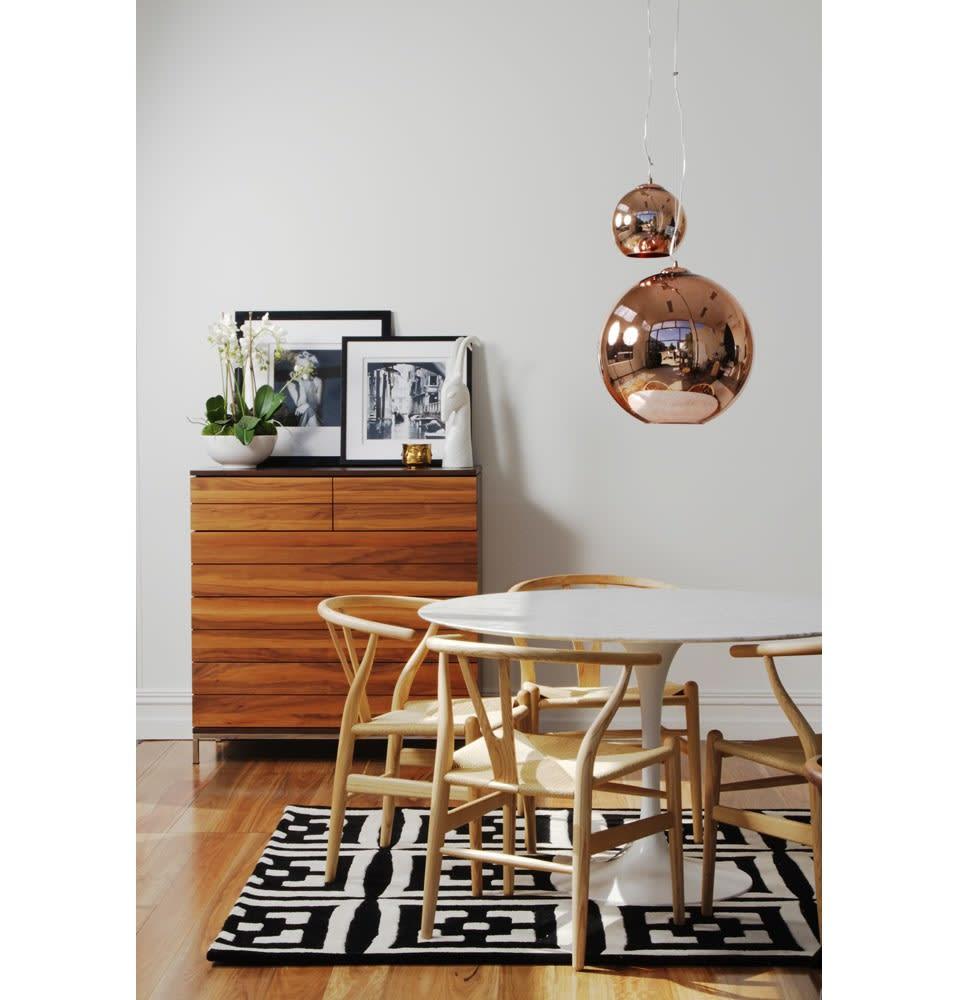 Tom Dixon Small Bronze Globe Pendant Light