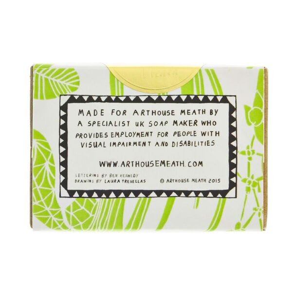 ARTHOUSE Unlimited Laura's Floral Organic Soap