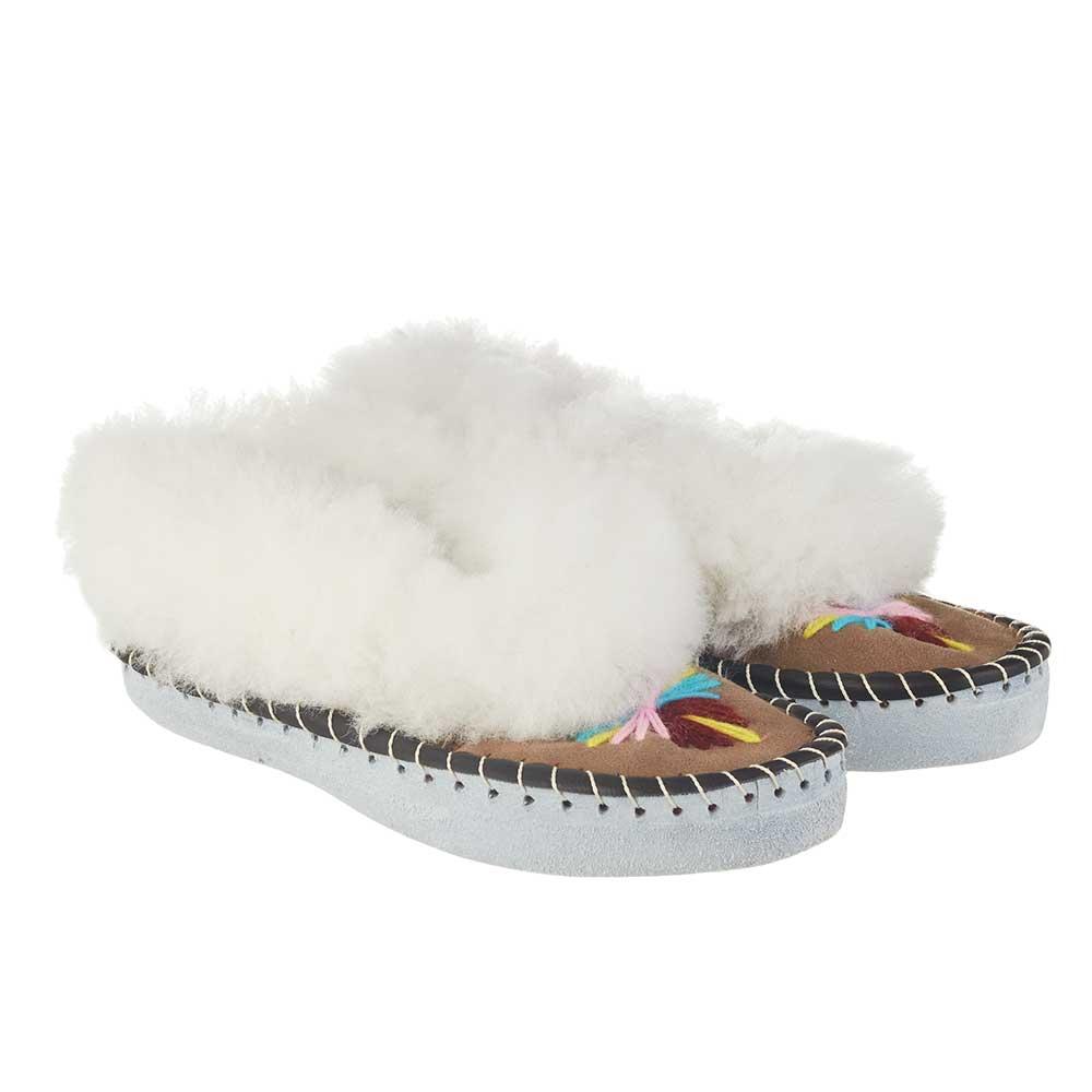 Handmade Womens Sheepskin Slippers