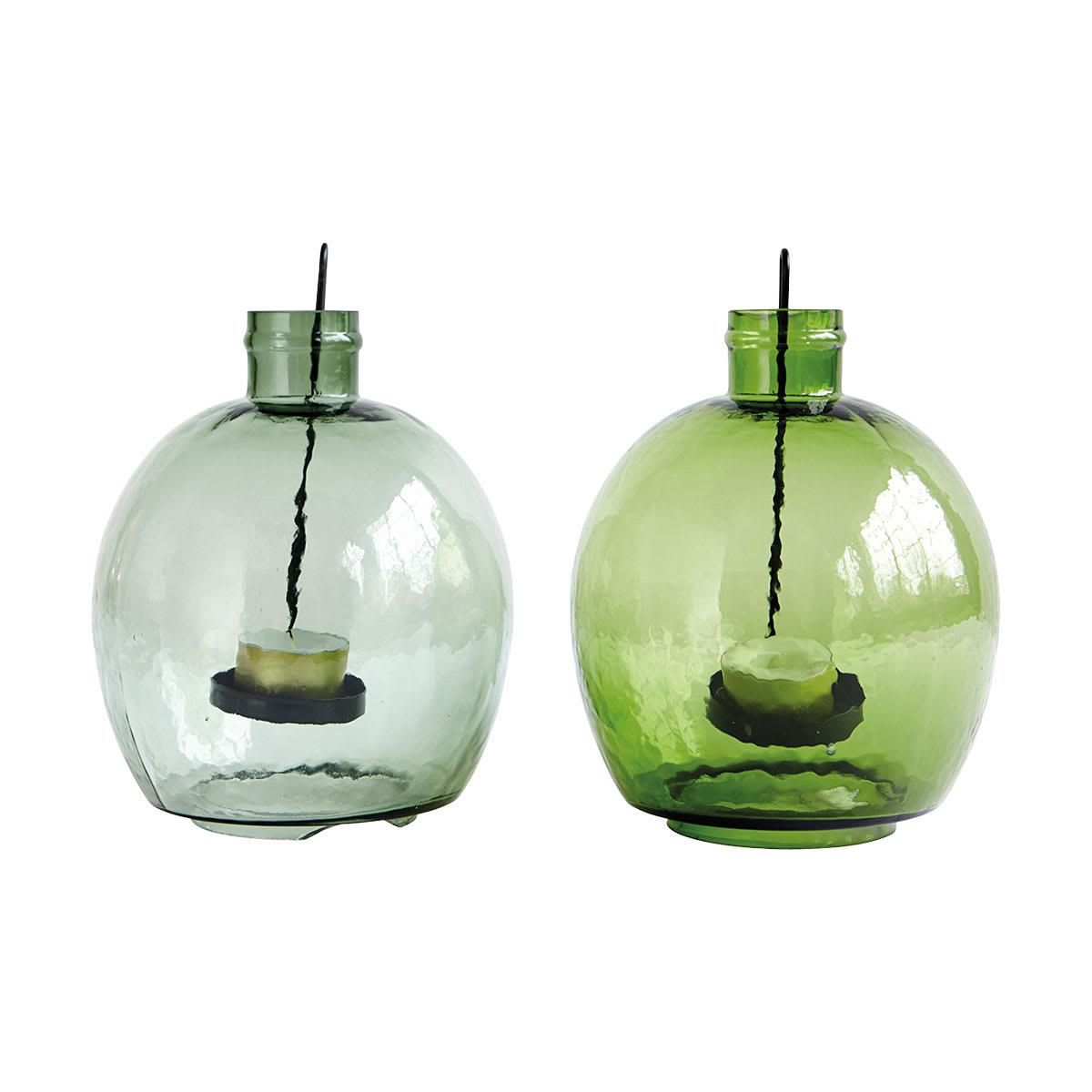 House Doctor Medium Recycled Glass Lantern Tea Light