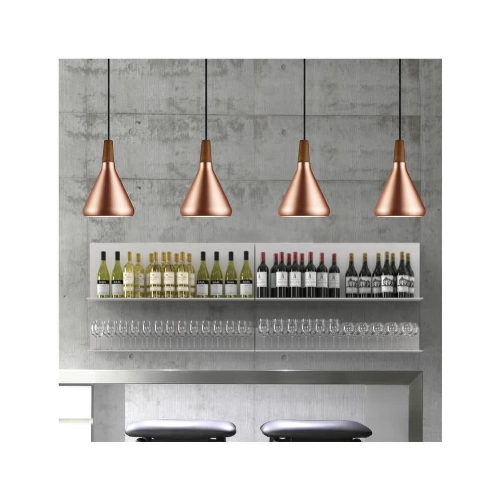 Nordlux Lighting DFTP Copper Float 18 Pendant Light