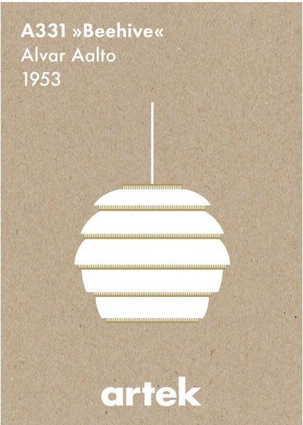 Artek A331 Beehive Poster
