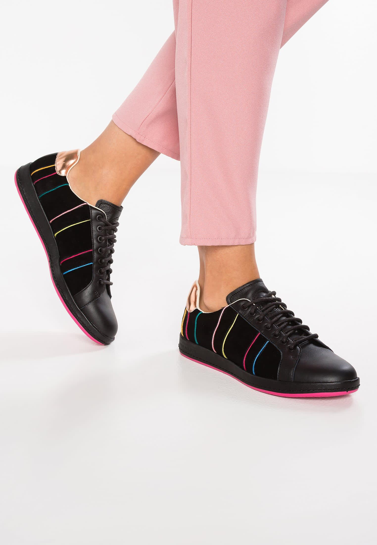 Paul Smith Black Lapin Trainers