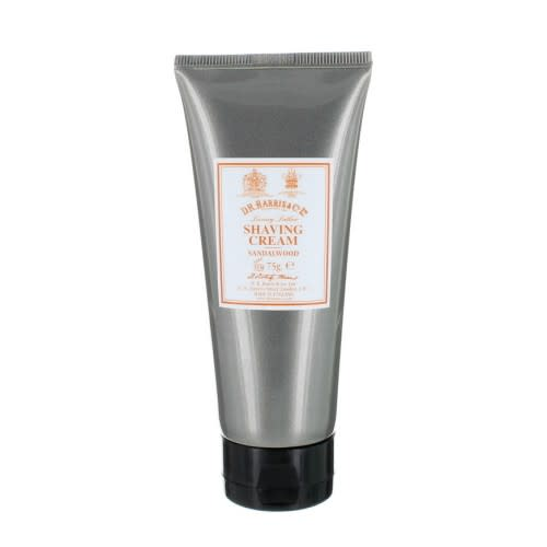 D. R. Harris 75g Sandalwood Shaving Cream Tube