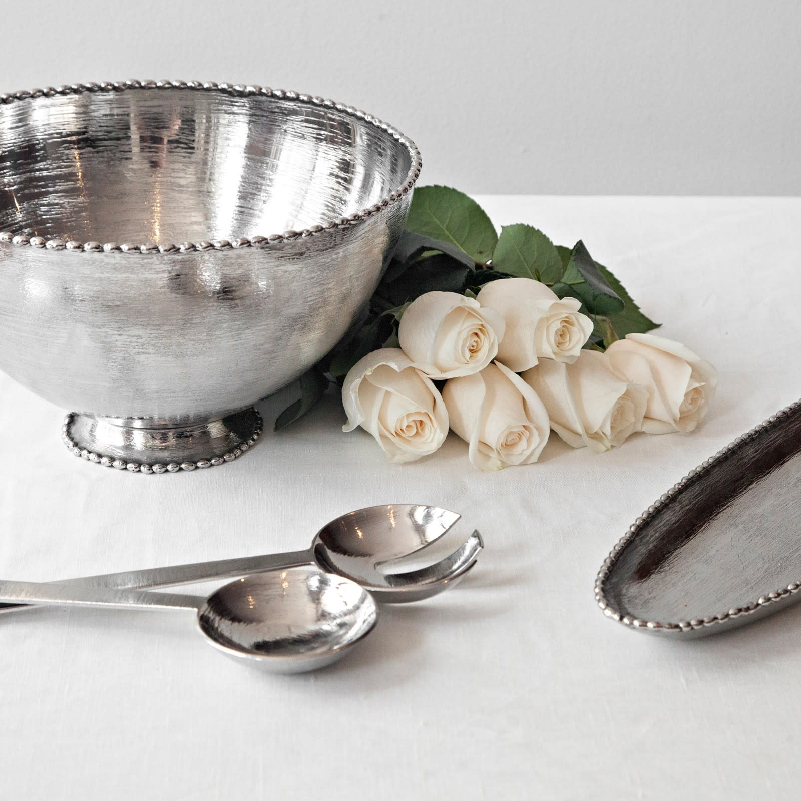 Michael Aram Molten Frost Serving Set