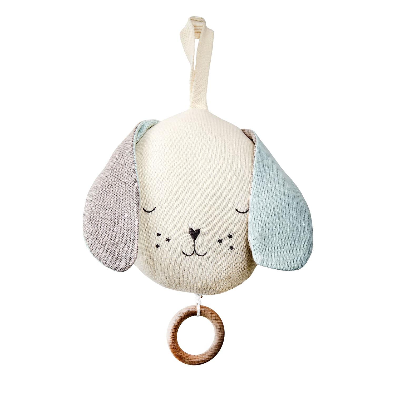 Meri Meri Musical Dog Baby Toy