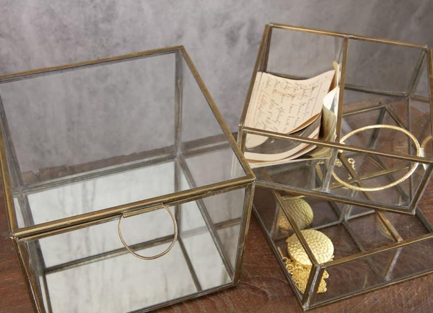 Nkuku Bequai Compartment Jewellery Box