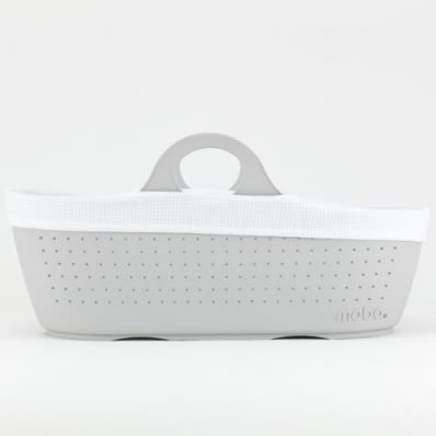Moba Dove Grey Moses Basket