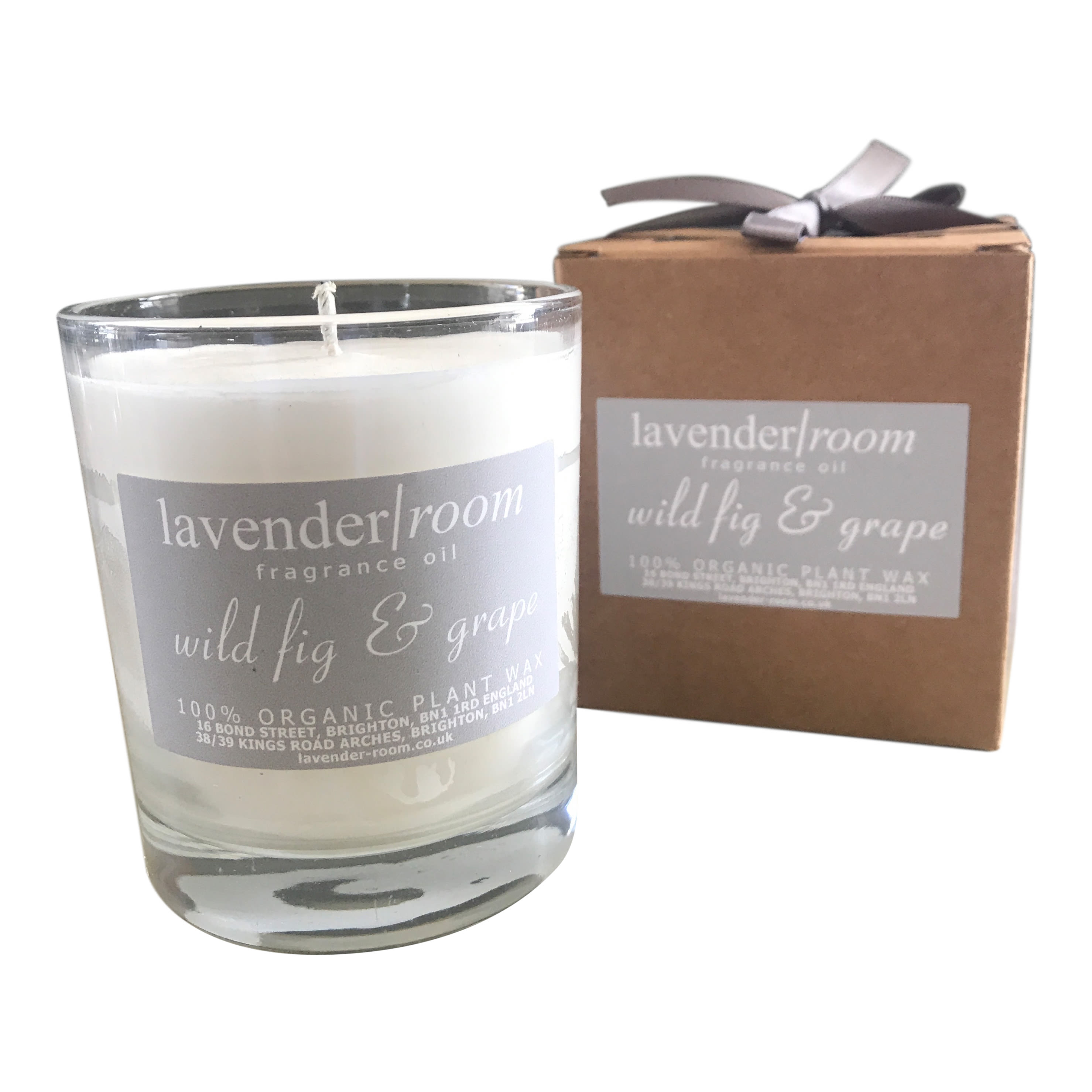 lavender room Large Organic Scented Candle
