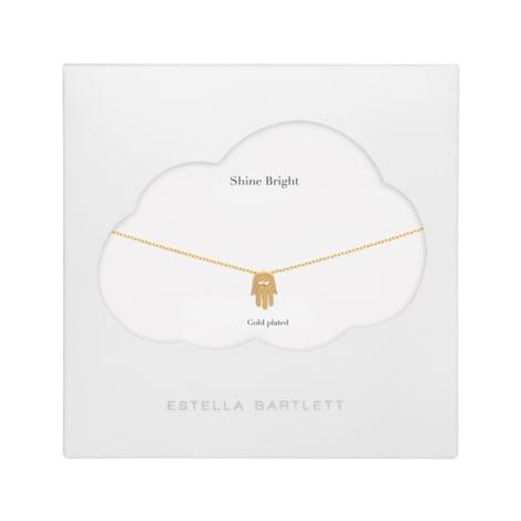 Estella Bartlett  Hamsa Hand Charm Necklace