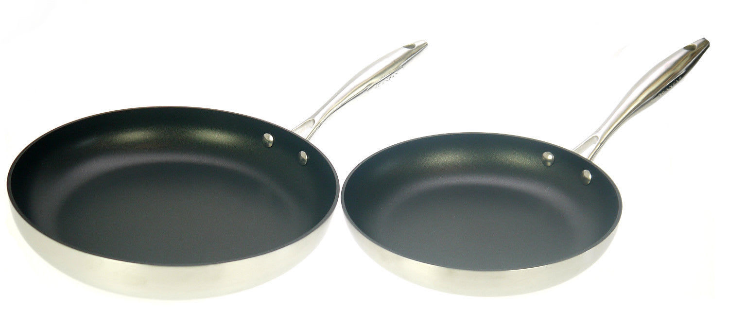 Scanpan CTX 24cm AND 28cm Frying Pans NEW Boxed *Induction Compatible