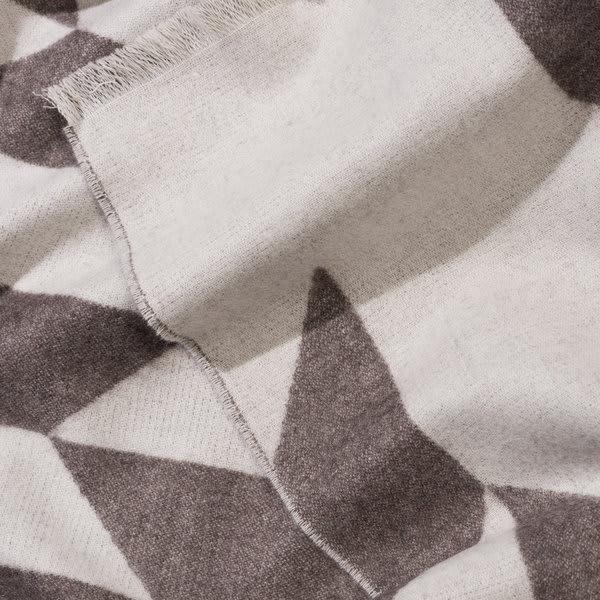 Catharina Mende Winter Leaves Woven Extra Fine Merino Blanket