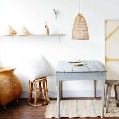 La Variété Bamboo Cone Lamp