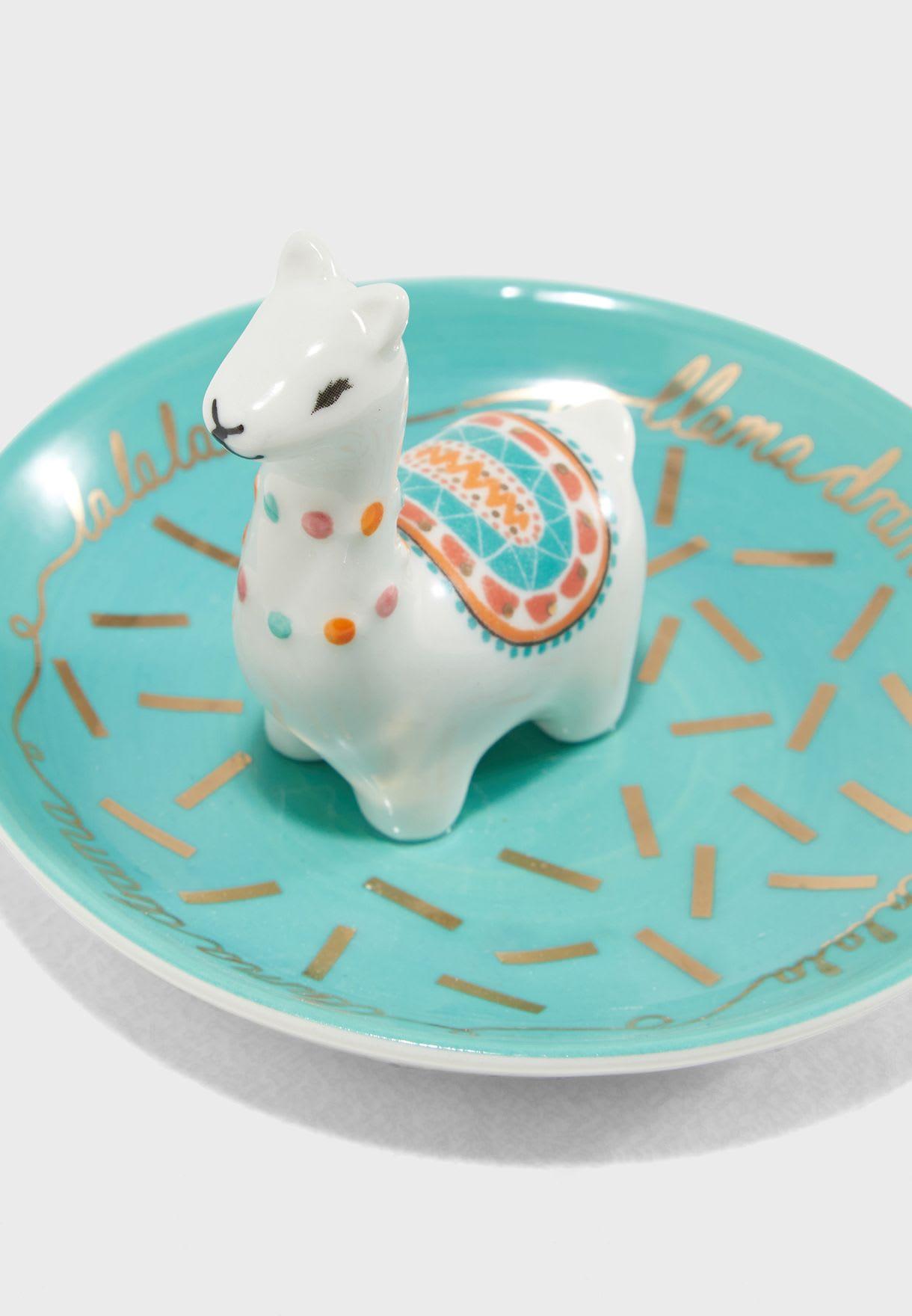 House of disaster Drama Llama Trinket Dish