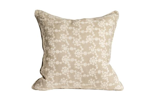 Nichola Taylorson Moksha linen cushion