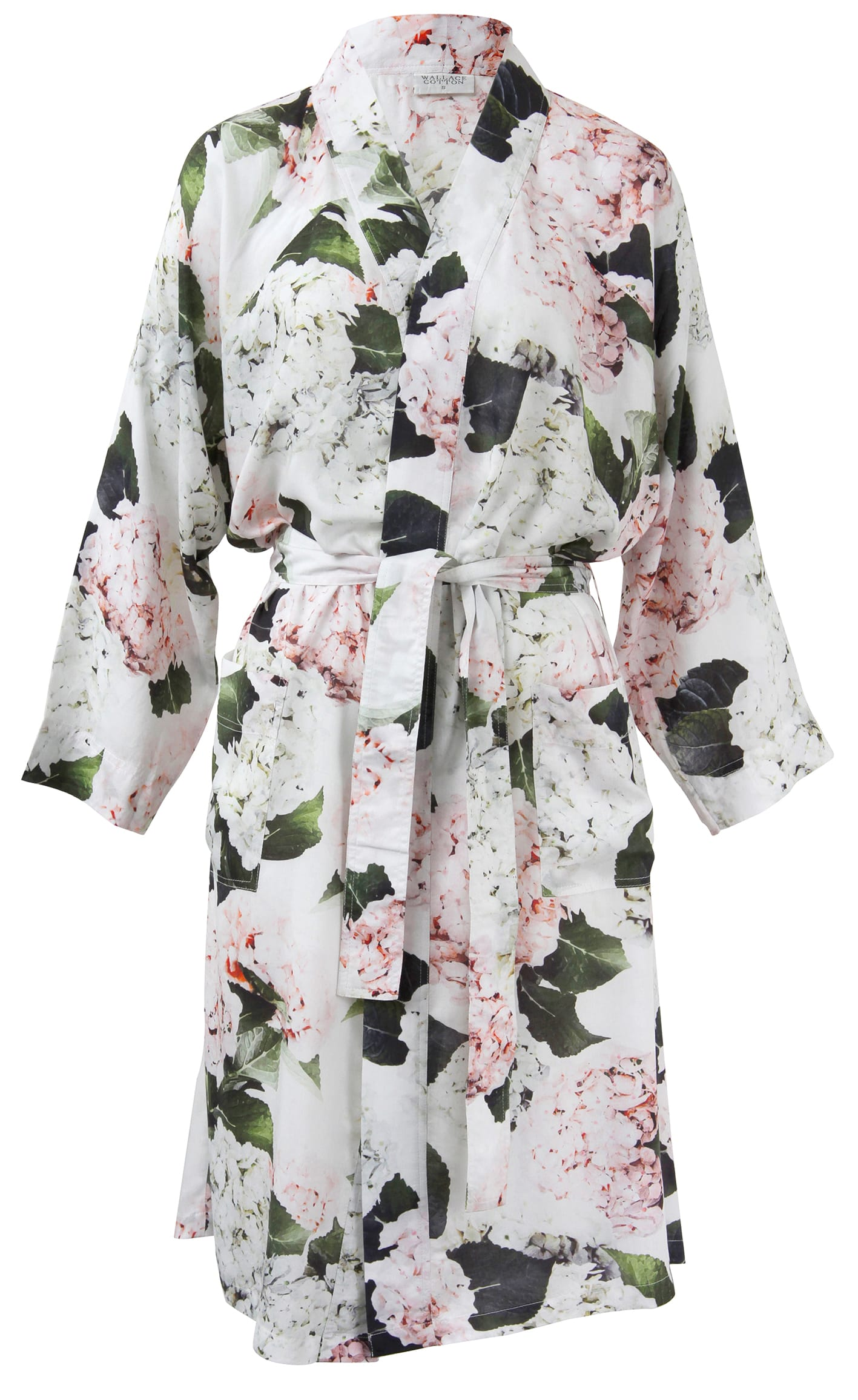 Wallace Cotton Hortense Floral Robe