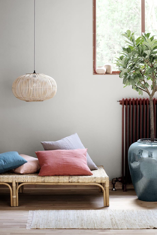 Broste Copenhagen Medium Natural Bamboo Pendant