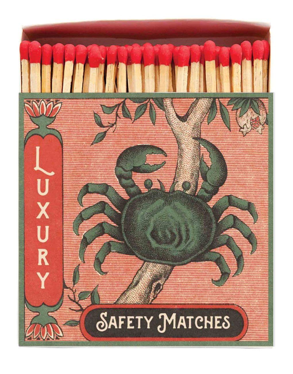 Archivist Square Crab Match Box