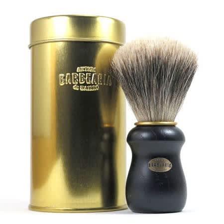 Gold Plated Finish Shaving Brush