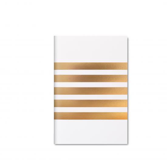 Mini Striped Pocket Notebook