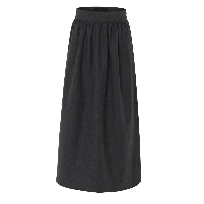 AV London Wool Midi Skirt