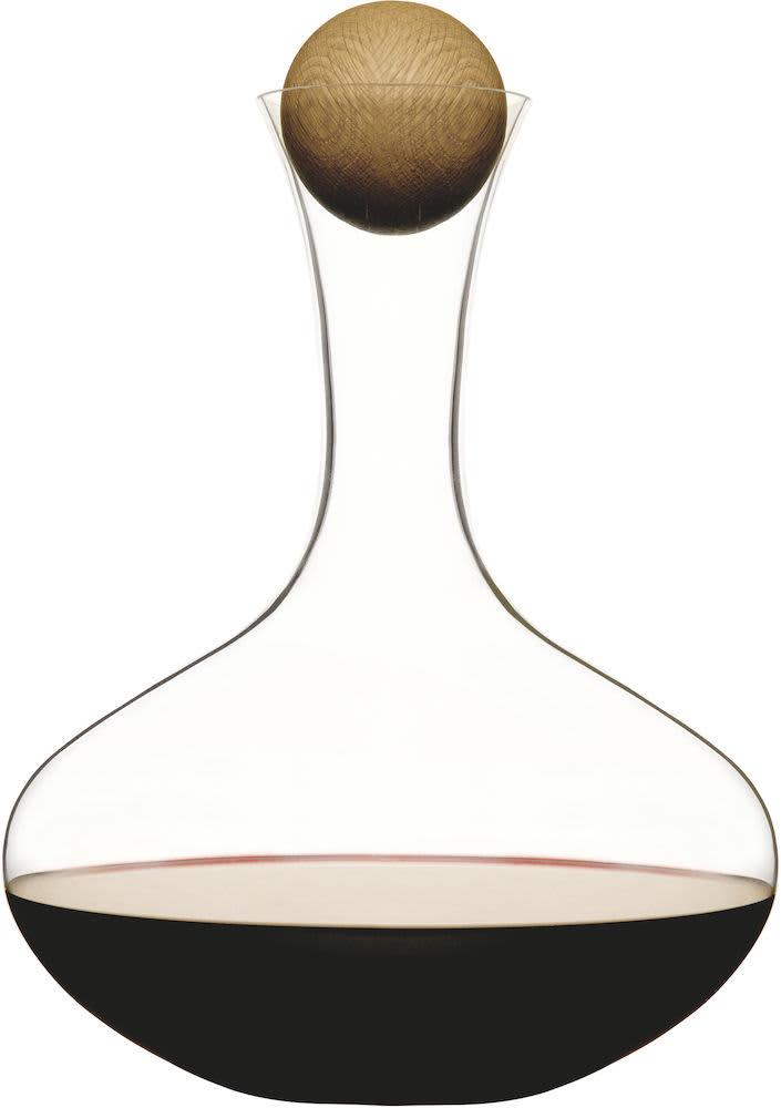 Sagaform Oak Stopper Wine Carafe