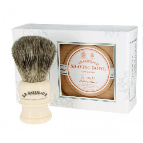 D. R. Harris Beech Sandalwood Shaving Gift Set