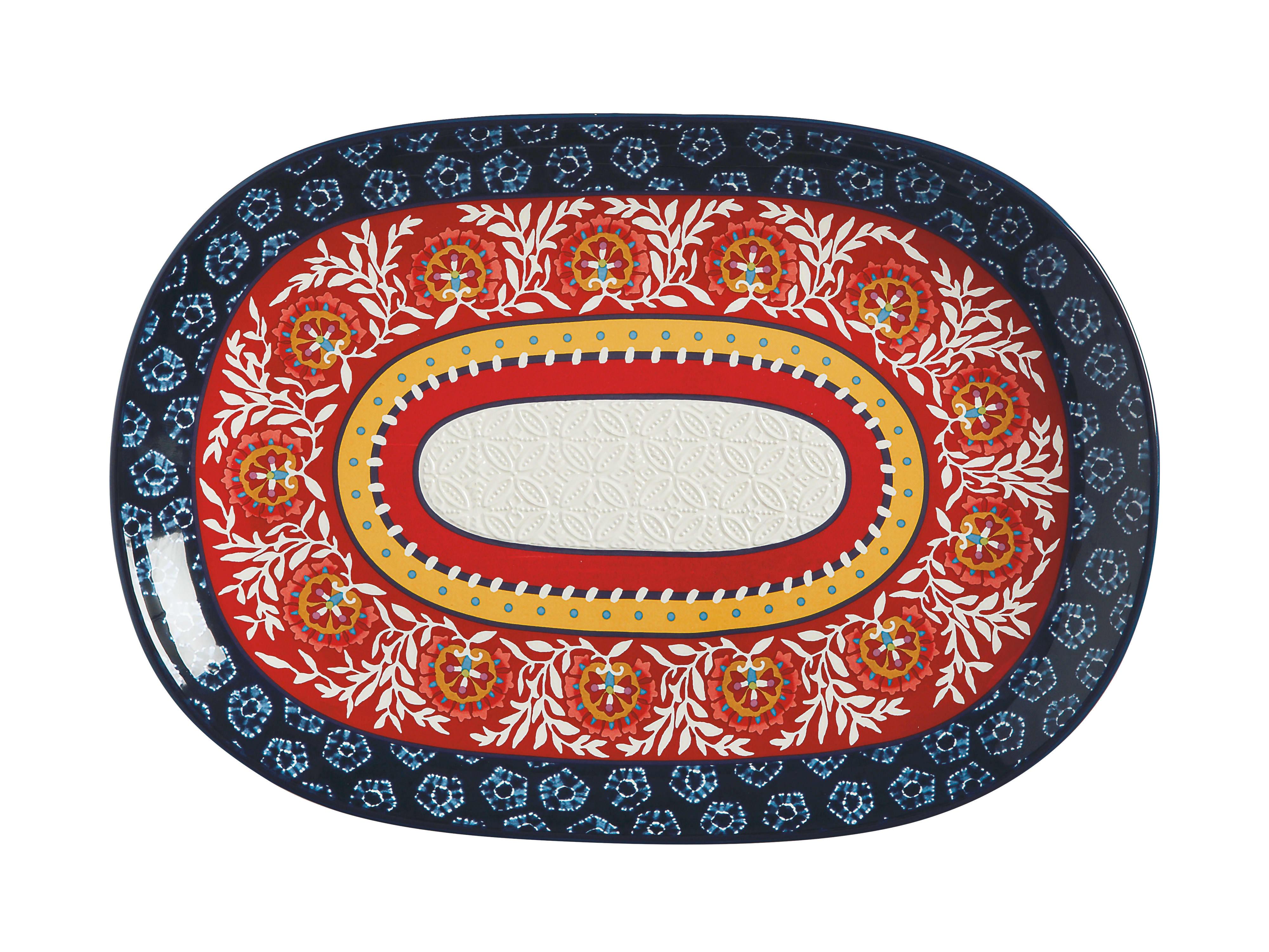 Maxwell & Williams Boho Oblong Platter 40x28cm