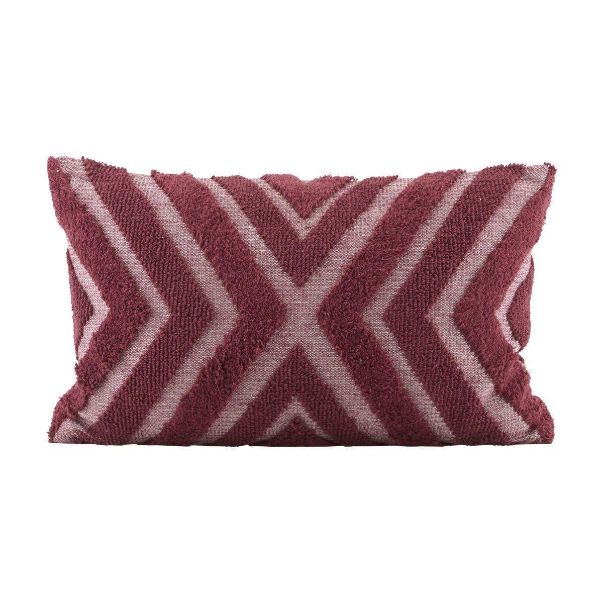 House Doctor Burnt Henna Textured Cushion Cover