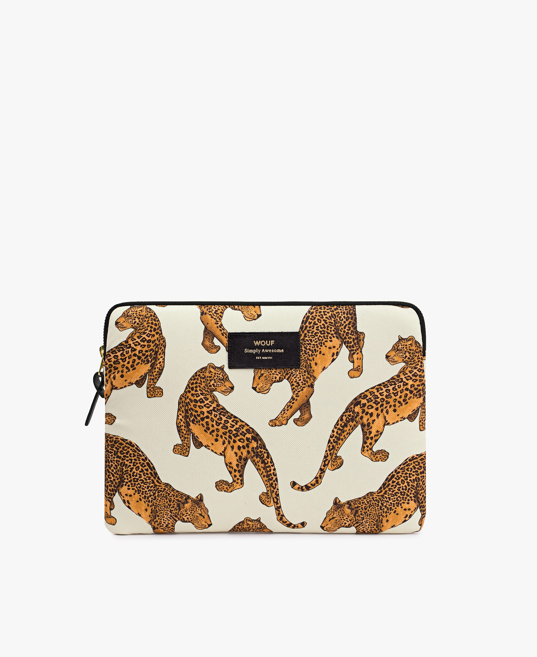Wouf Leopard iPad Case