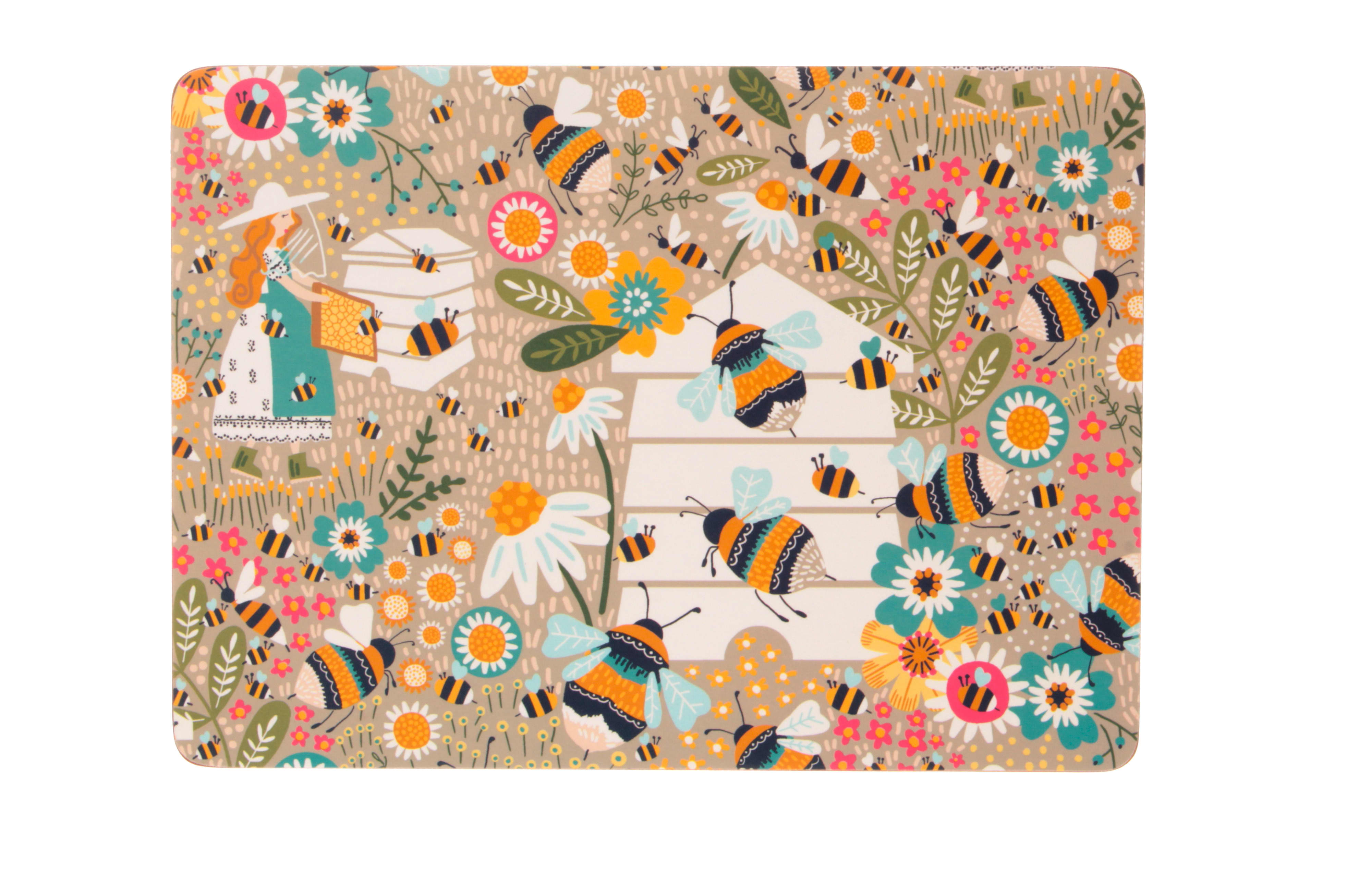 Ulster Weavers Pack of 4 Bee Keeper Placemats