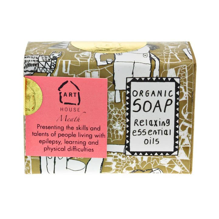 ARTHOUSE Meath Essential Oils Relaxing Organic Paraben Free Soap