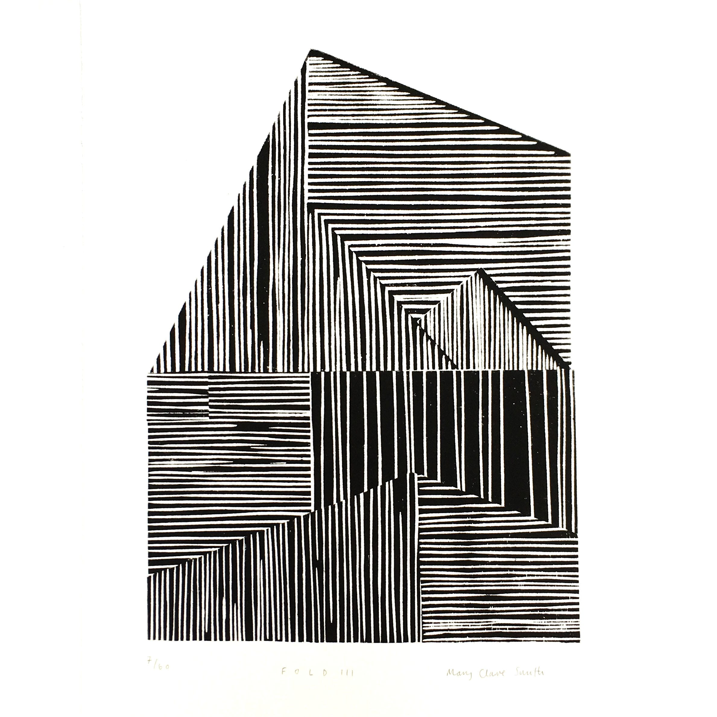 Mary Claire Smith Fold II Print