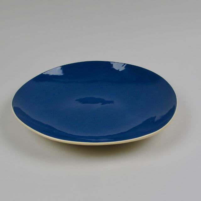 Brickett Davda Woad Handmade Pasta Plate