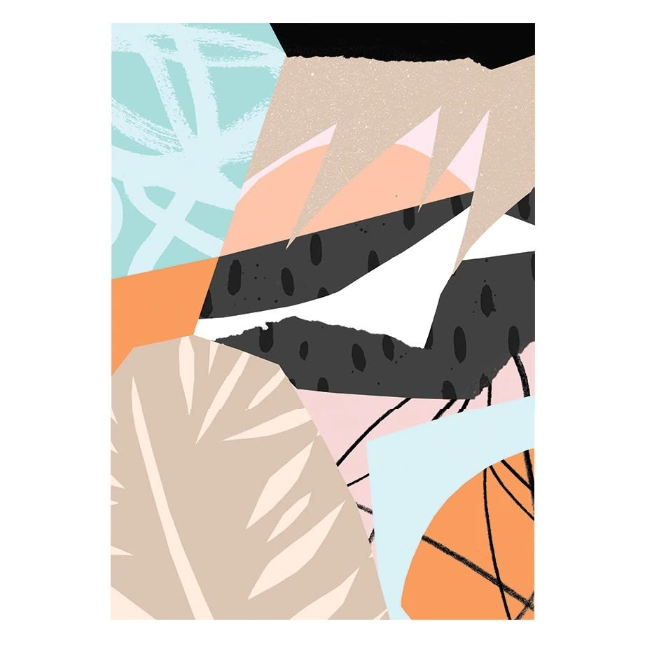 East End Prints  Scandi A3 Unframed Print