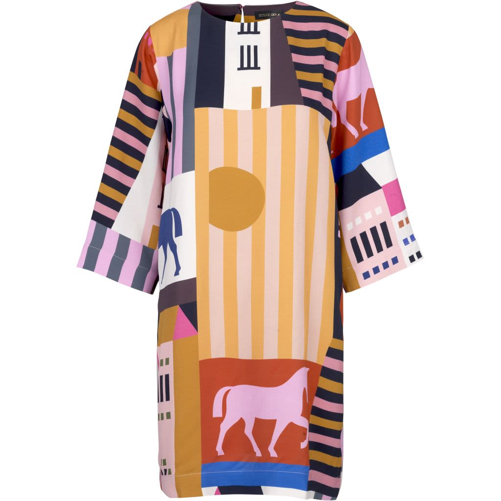Stine Goya Beatrix City Print Dress