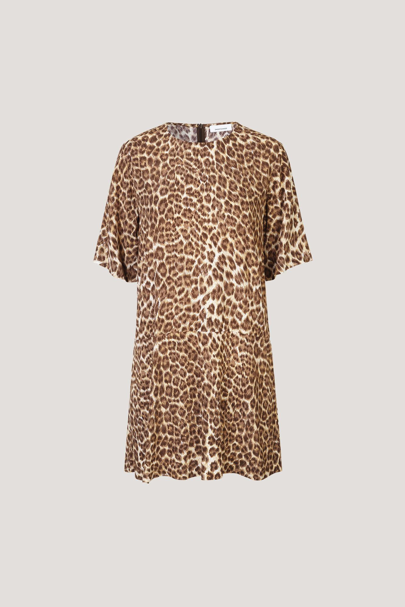 Samsoe & Samsoe Leopard Print Adelaide Dress