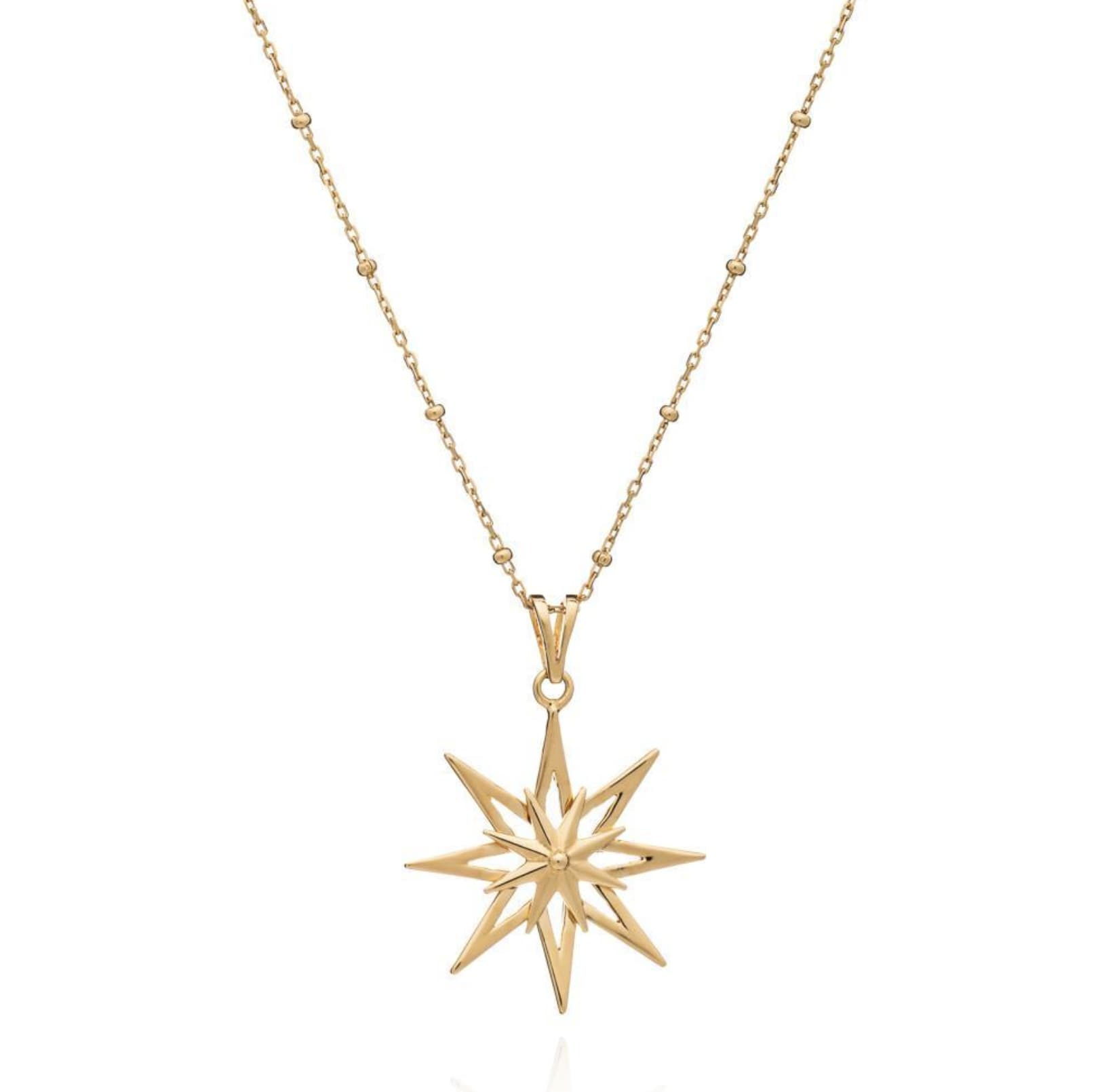 Rachel Jackson Gold Rock Star Necklace