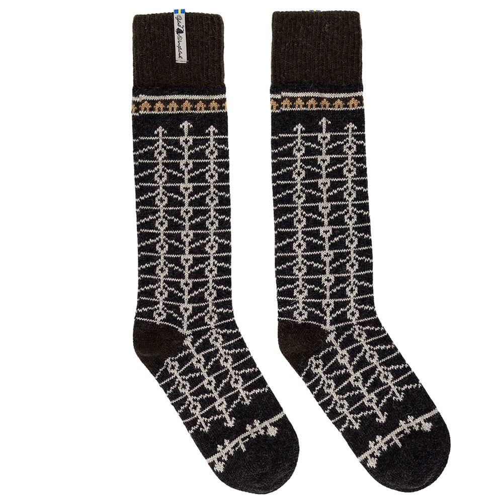 Öjbro Eksharad Soot Swedish Merino Wool Socks