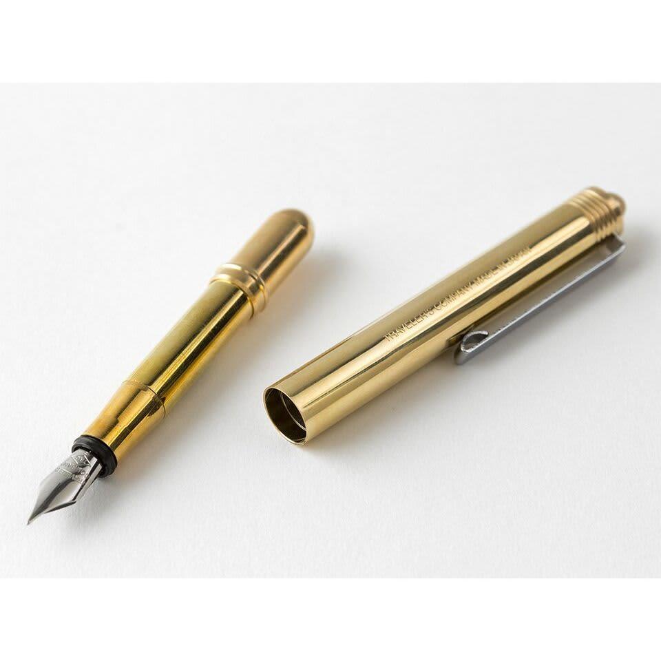 Traveler's Company TRC Traveler's Brass Fountain Pen