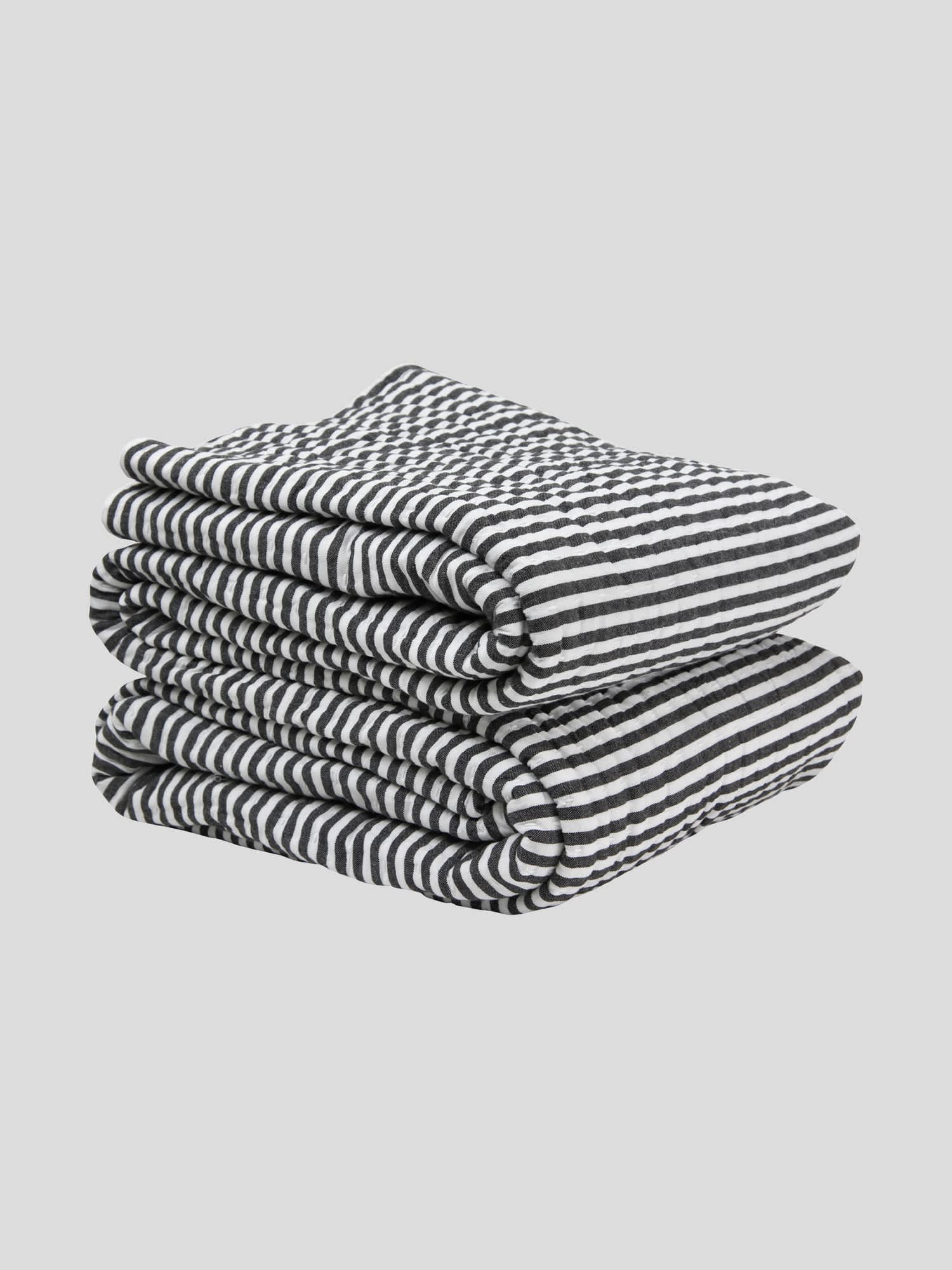 Wallace Cotton Large Black Corinthian Cotton Bedspread Blanket