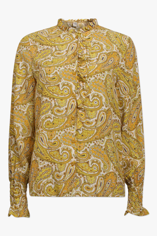 Baum und Pferdgarten Yellow Paisley Morna Shirt