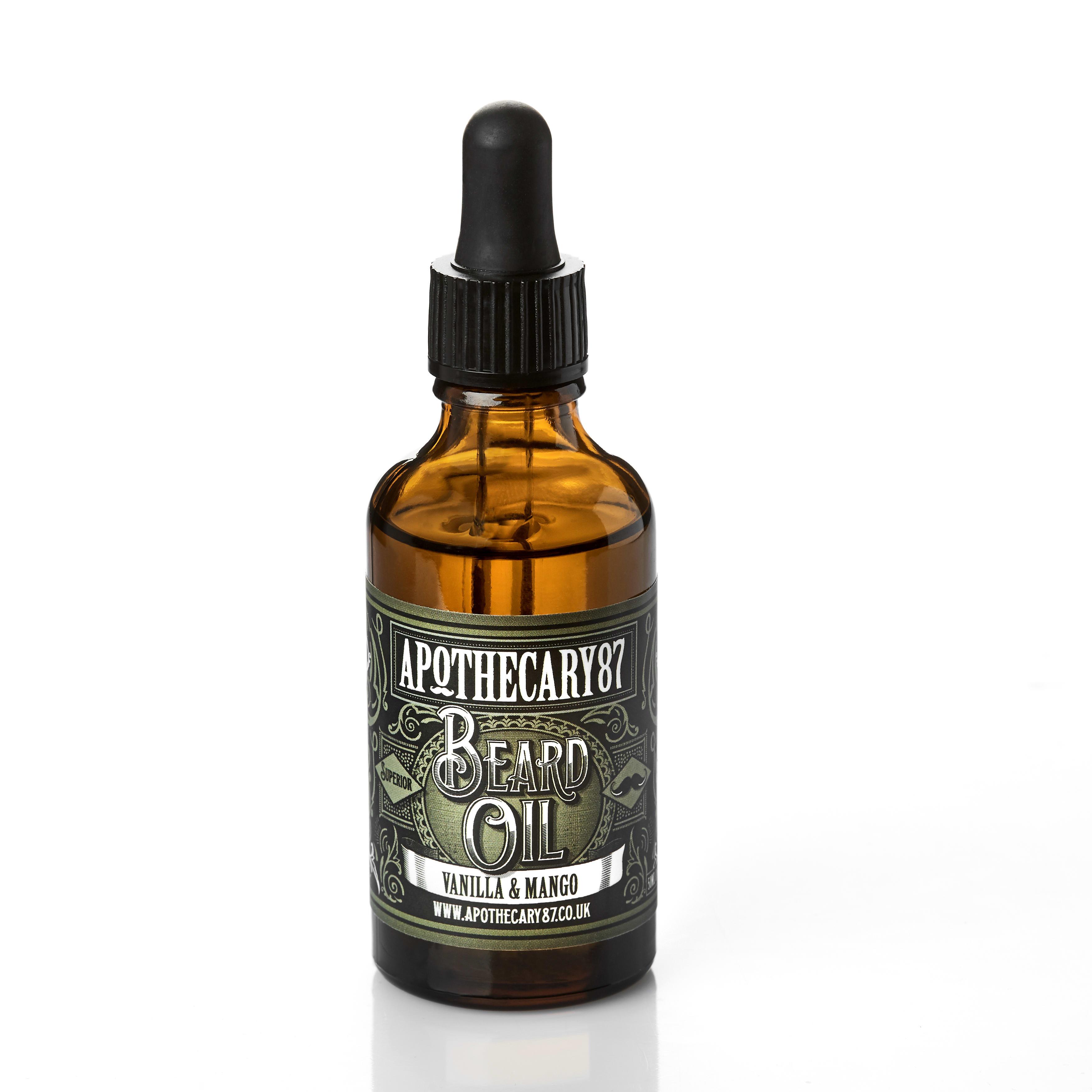 Apothecary 87 Beard Oil - A Vanilla & Mango Fragrance 50ml