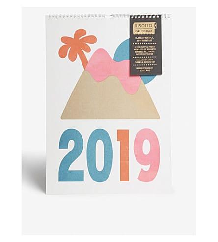 Risotto 2019 Wall Calendar