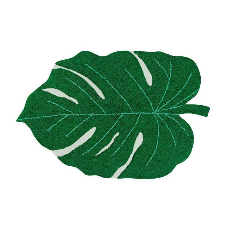 Lorena Canals Monstera Leaf Carpet