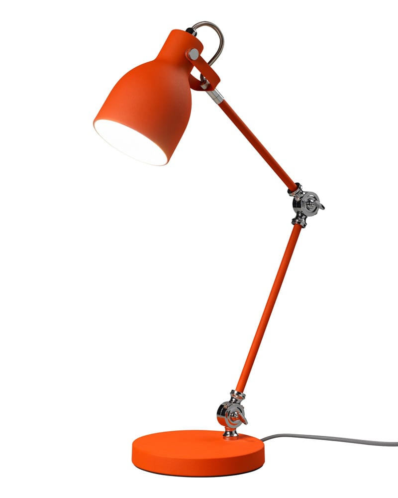 Goldfish Orange Task Lamp